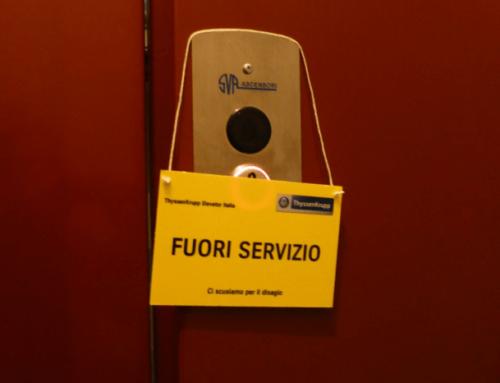 Condominio: ascensore fuori servizio